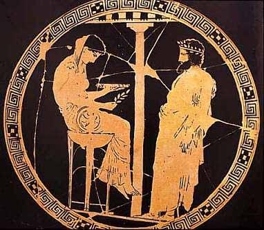 Pythia Aegeus Themis Delphi[1]
