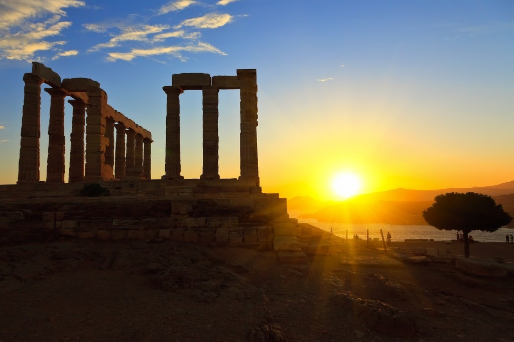 greece_athens_cape_sounio_sunset
